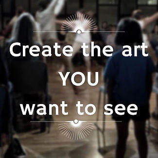 Create The Art You Want To See