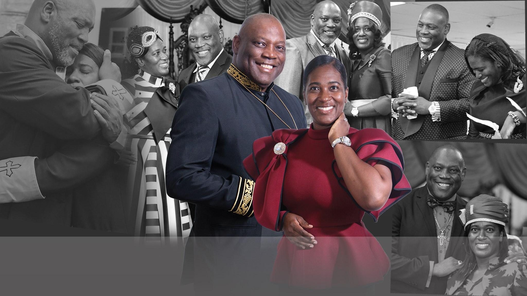 Vice BishopThomas and Pastor Shauna Douglas