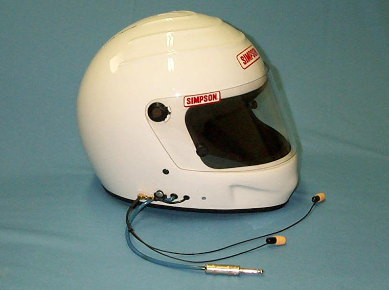 Automobile Racing Helmet