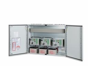 Flexible, modular aufgebaute Zentralen mit 60 Amp. für Rauch und Wärmeabzug nach EN 12101-10