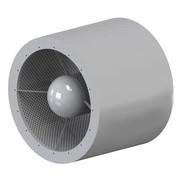 Schalldämpfer 100mm mit Pod