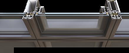 Pfosten Riegel System