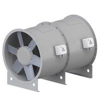 Axial Doppel Ventilator