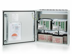Flexible, modular aufgebaute Zentralen mit 40 Amp. für Rauch und Wärmeabzug nach EN 12101-10