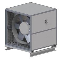 Axial Gehäuse Ventilator