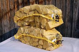 Сухие дрова в сетках Пушкинском районе