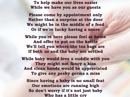 A Poem for New Parents to Share