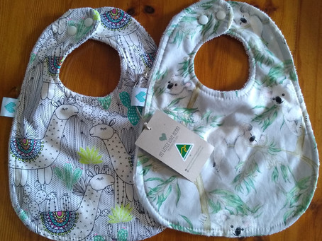 Review: My Little Love Heart's Large Bibs ⭐⭐⭐⭐⭐