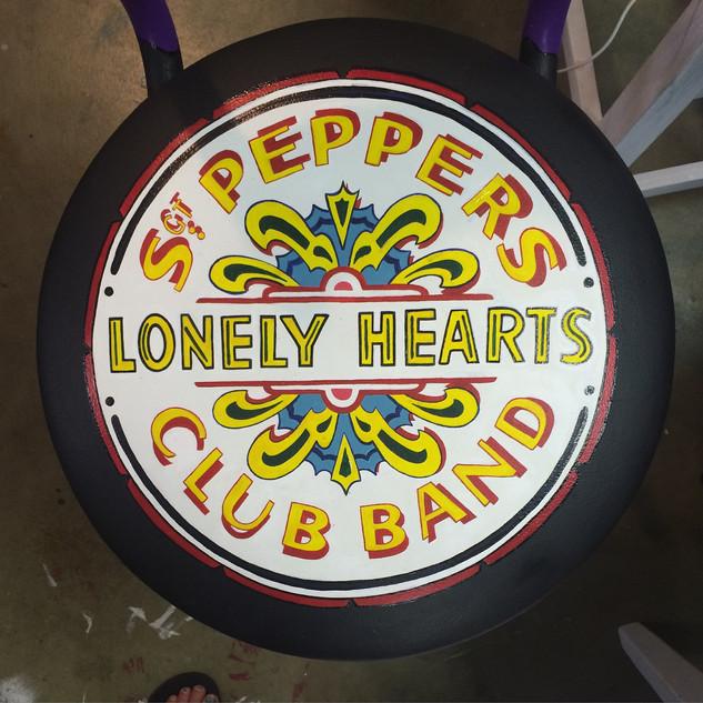Sgt. Pepper Stool