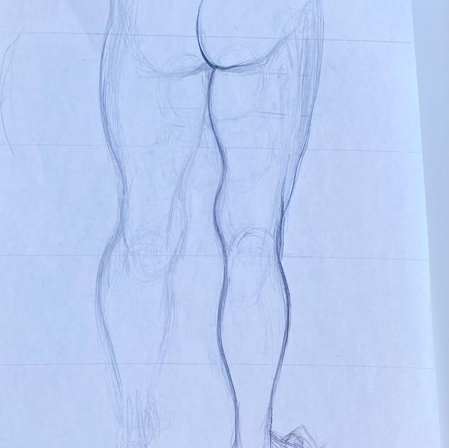 Back of Leg