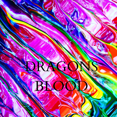 Dragons Blood/ Zombie Blood Soy Candle