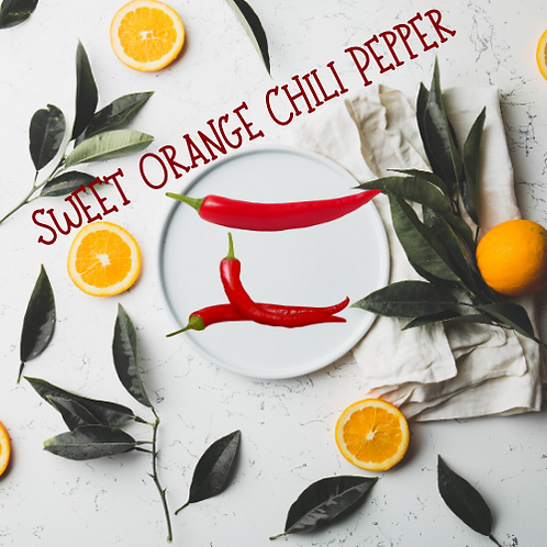 Sweet Orange Chili Pepper Sugar scrub