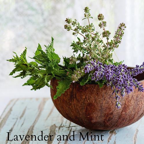 Lavender Mint Broken Bath Bomb