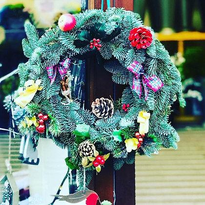 Blue Spruce Traditional Wreath
