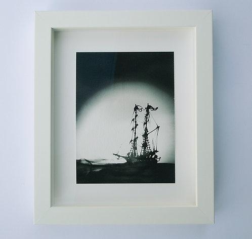 the ship sails
