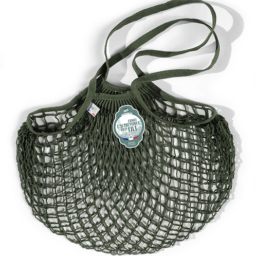 Medium Olive Green French Filt Bag