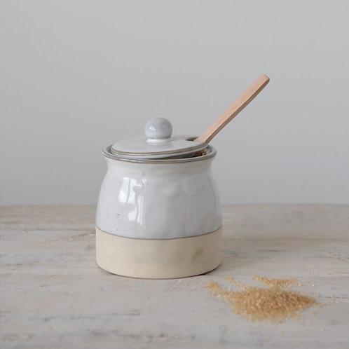 Stoneware Confiture Preserves Pot