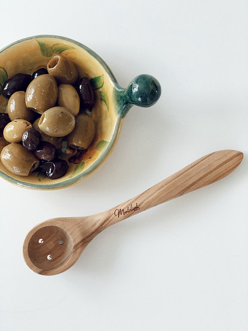 Montolivet Artisan Olive Spoon