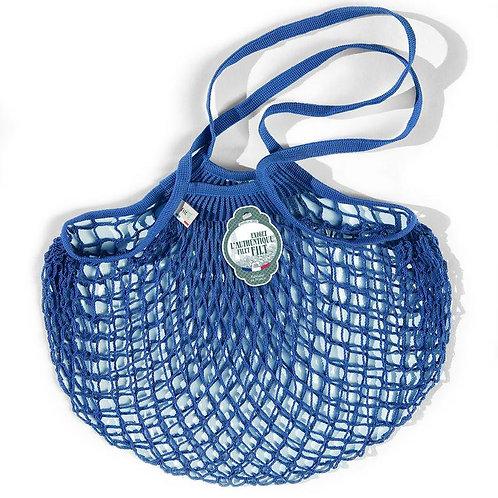 Vibrant Blue French Filt Bag