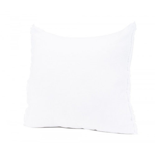 White Linen Cushion Cover