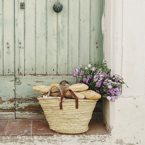 Large French Weekend  Basket
