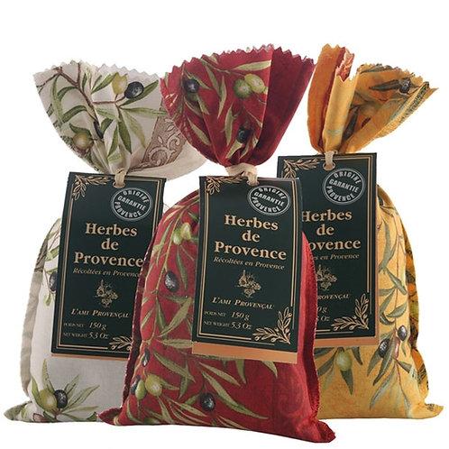 L'Ami Provencal Provence Herbs in Linen Bag