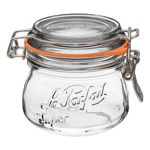 Le Parfait  Rounded Glass Storage Jar 250ML