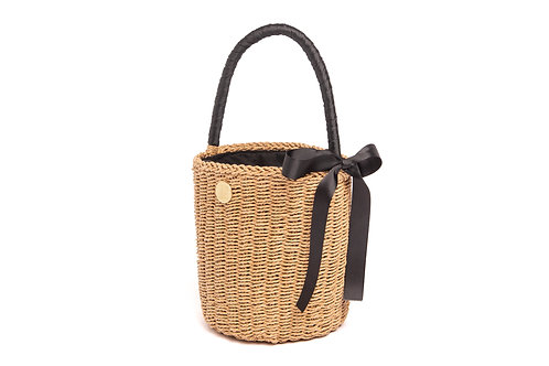 Cherie Bucket Basket Natural
