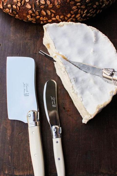 Laguiole Ivory Mini Cheese Set