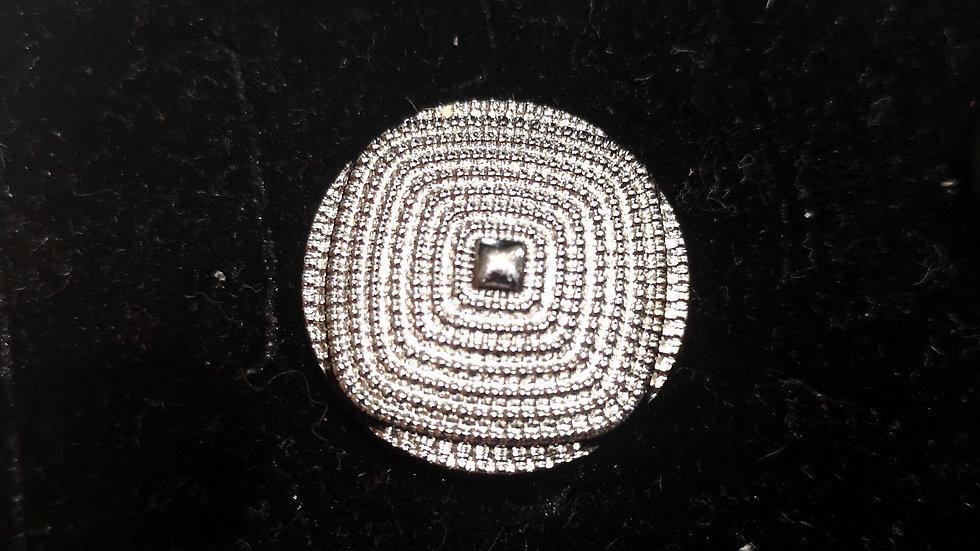 bouton shiny mercerie en abs uv plating