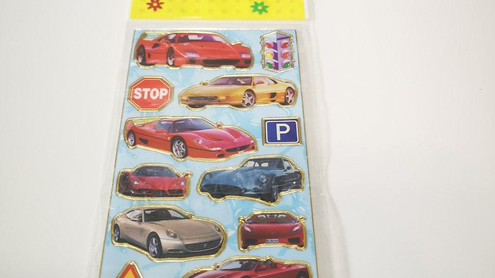 Plaque de sticker