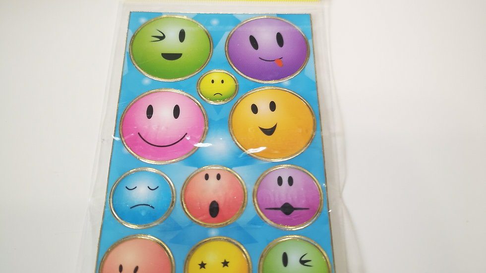Plaque de stickers