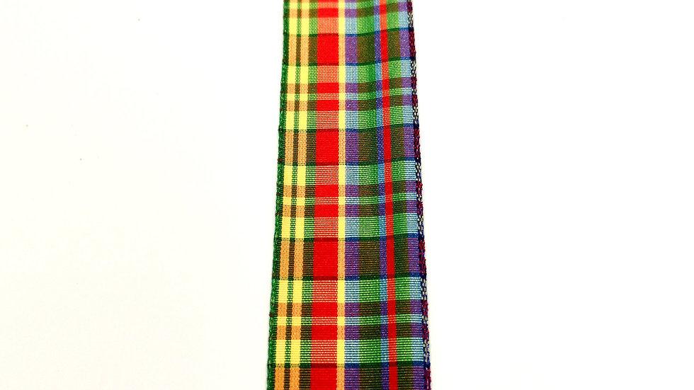 ruban ecossais mercerie