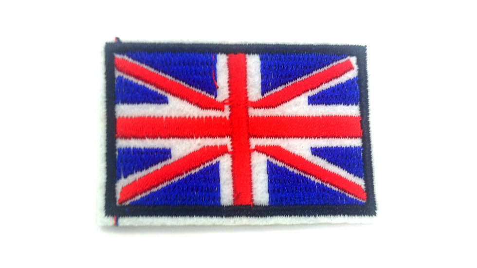 ecusson thermocollant drapeau anglais mercerie