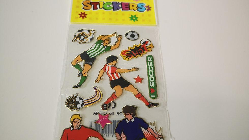 Plaque de stickers