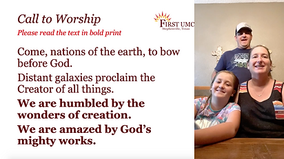 Call to Worship Example.png