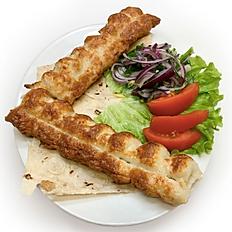 Люля-Кебаб из курицы с лавашем