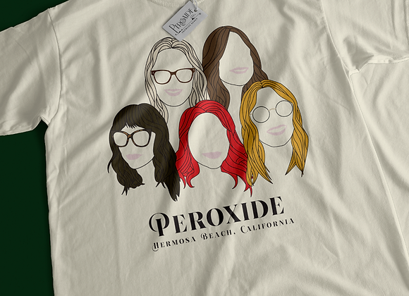 The Peroxide babes tee