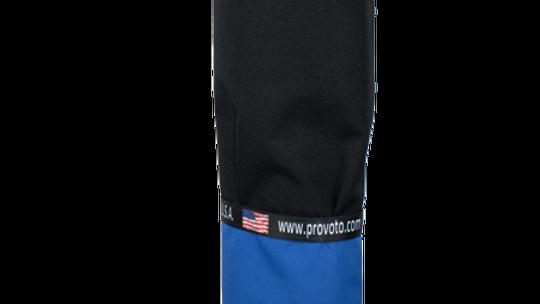 Royal Blue Bag - Black Pocket and Stand