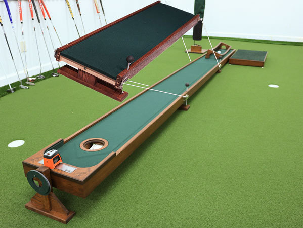 Extendable Putting Platform