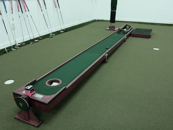 14 ft. Auto-return Ball Putting System