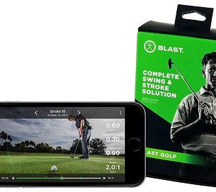 Blast Golf Training Mobile App
