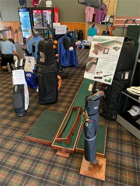 Putter holder Stand-Bag-Sign