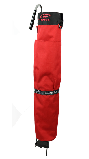 Real Red Bag without Stand