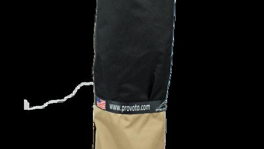 Golden Tan Bag - Black Pocket + Options and Stand