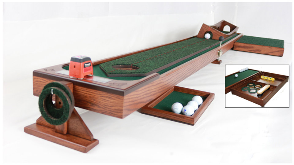 8'and 10' Ball Corral with Putting Channel