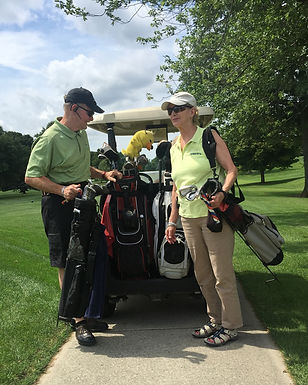 Wayne & Cindy at back of cart 800x1000.j