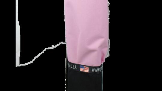 Black Bag – Just Pink Pocket, Strap - Cup Holder Option
