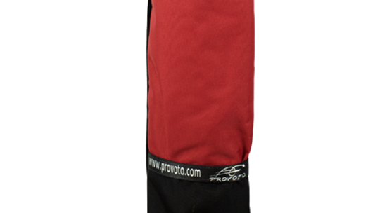 Black Bag - Real Red Pocket without Stand