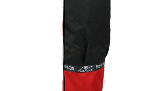 QP Real Red Bag - Black Pocket without Stand